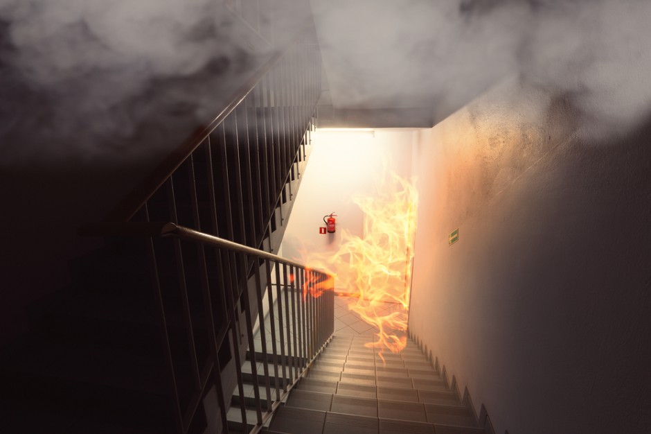 Pożar kamienicy w Siemianowicach Śląskich. Ewakuowano 14 osób