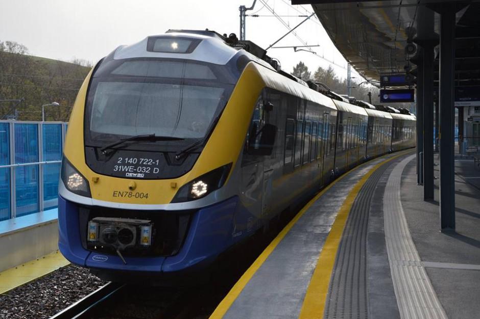 Małopolska. Ponad 32 mln zł unijnego wsparcia na zakup czterech pociągów