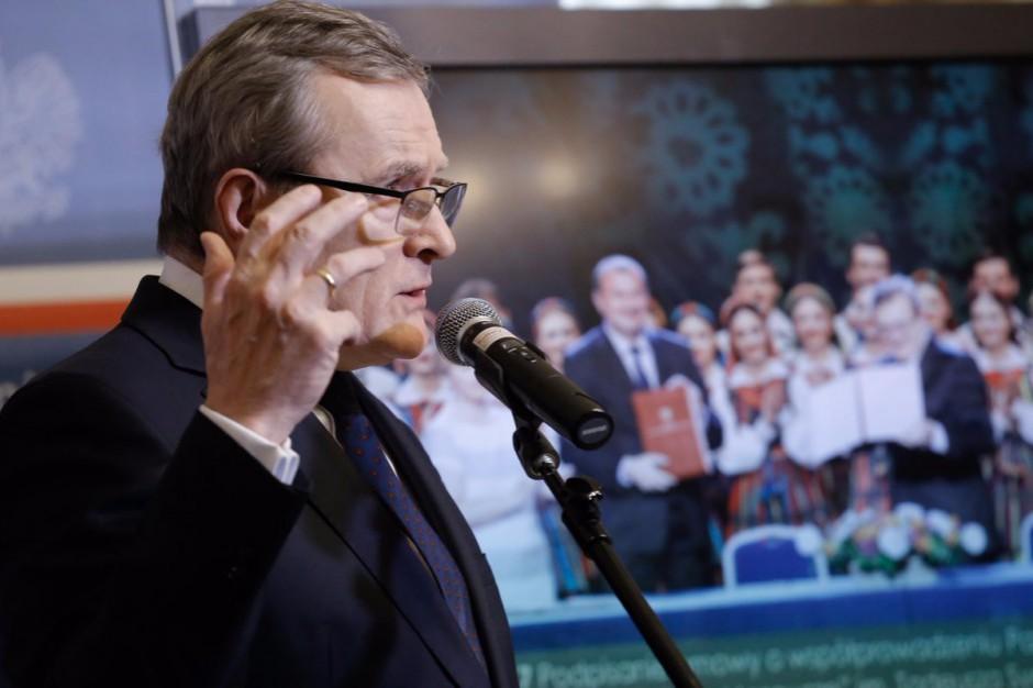 Piotr Gliński zapowiada zmiany w powoływaniu konserwatorów zabytków