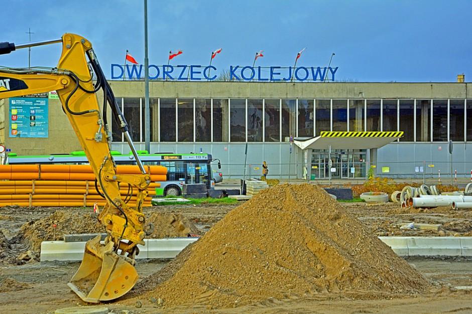 Olsztyn. Budynek dworca głównego nie trafił do rejestru zabytków