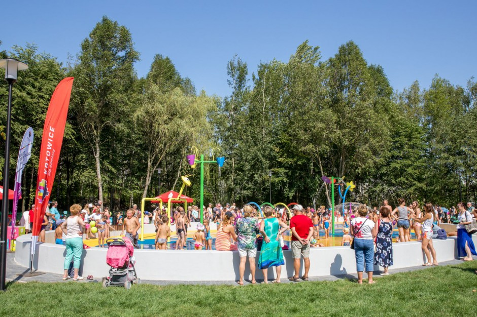 W Katowicach powstaną dwa kolejne wodne place zabaw