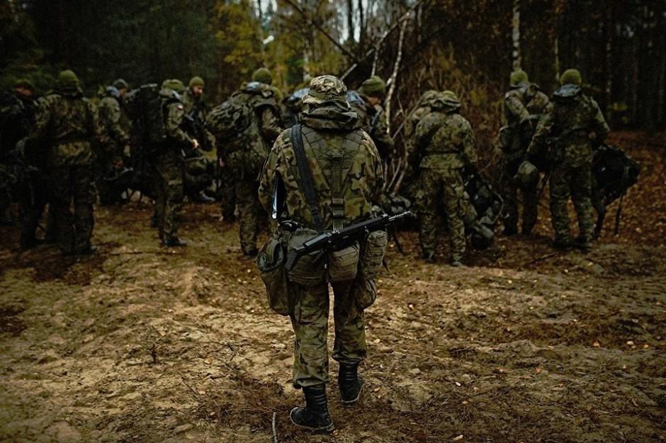 Podkarpackie. Wspólne ćwiczenia żołnierzy WOT i strażaków