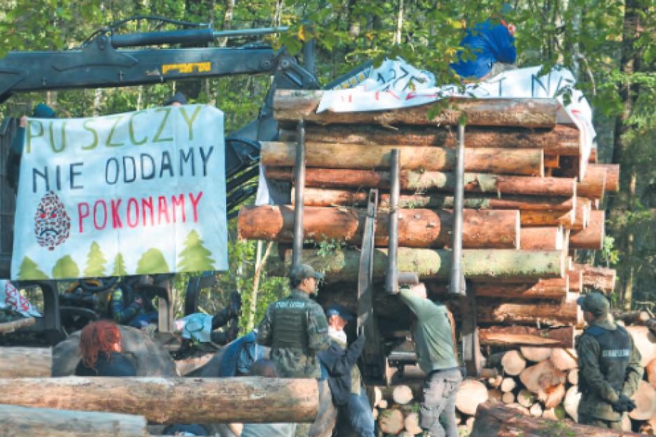 Zapadł wyrok w sprawie aktywistów z Puszczy Białowieskiej