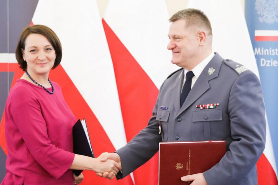 Magdalena Gawin: bez policji najlepszy konserwator zabytków nie mógłby nic zrobić