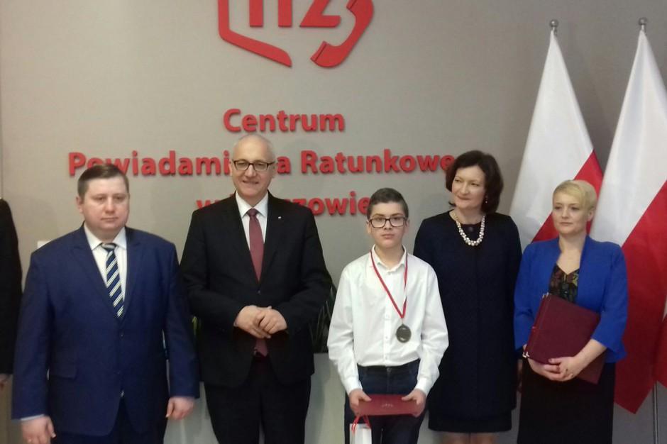 Joachim Brudziński: Nieprawdziwe zgłoszenia na 112 blokują możliwość kontaktu
