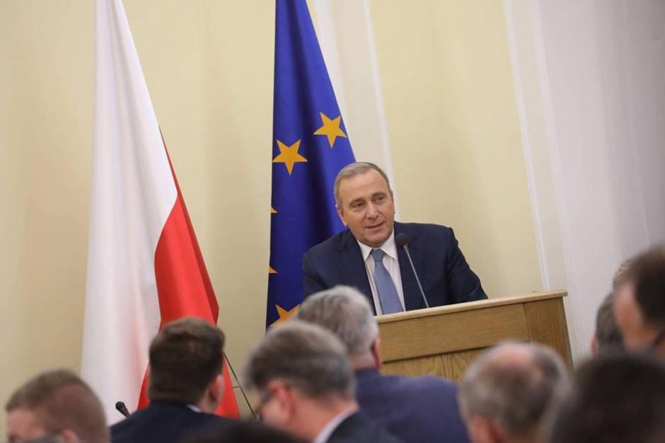 Grzegorz Schetyna: Warszawiacy nie zaakceptują pomnika na placu Piłsudskiego