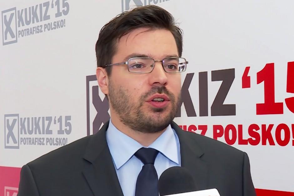 Kukiz'15 chce w Warszawie iść do wyborów wspólnie z ruchami miejskimi