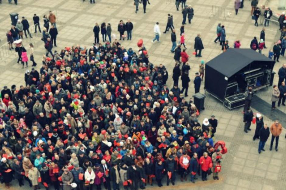 Walentynki świętowano w Chełmnie - mieście zakochanych