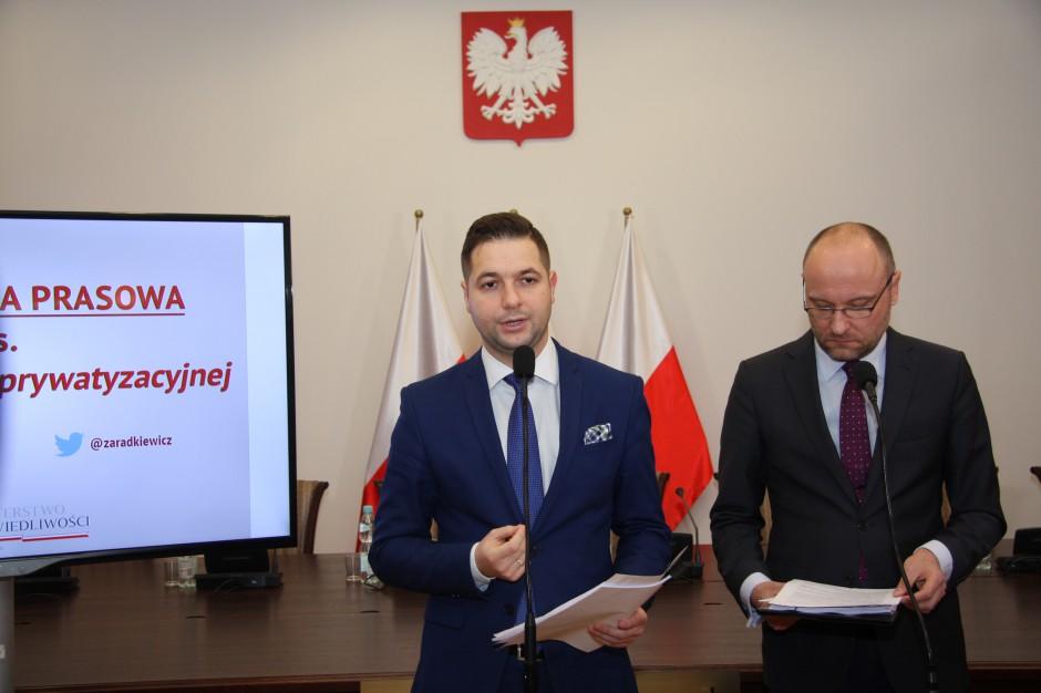 Jacek Sasin: projekt ustawy reprywatyzacyjnej przekracza możliwości budżetu państwa