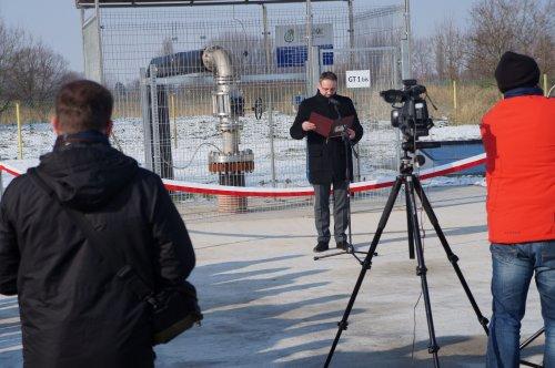 W Pyrzycach odbyło się uroczyste zakończenie budowy odwiertu GT-1 bis (fot. geotermia.inet.pl)