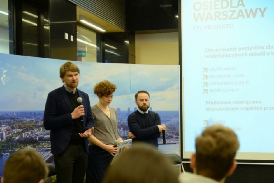 Warszawa startuje z pilotażowym projektem dla osiedli