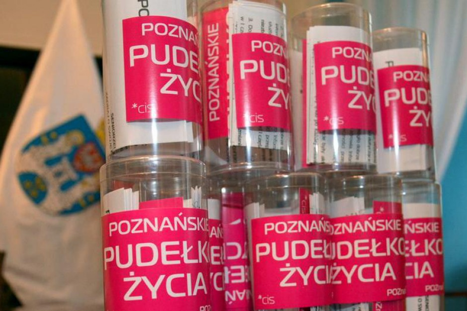 Poznań zainspirował się pomysłem Łodzi. Też ma swoje Pudełka Życia