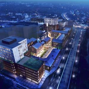 Kompleks Monopolis ma być gotowy w 2020 roku (Fot. JLL Polska)