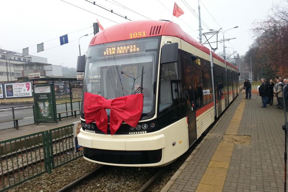 Gdańsk kupi od Pesy 15 nowych tramwajów