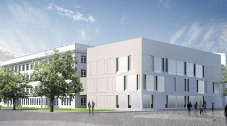 Tak ma wyglądać nowy budynek szpitala (fot.lodzkie.pl)