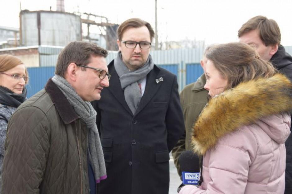 Wiceminister Sławomir Mazurek o sytuacji ekologicznej w Gorlicach