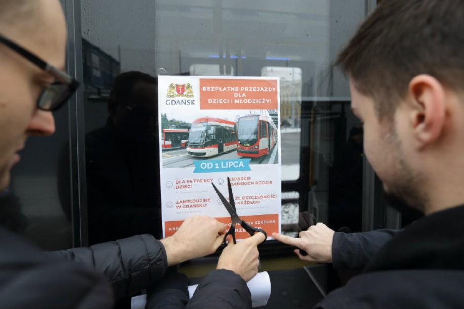 Gdańsk: Od 1 lipca bezpłatne przejazdy dla uczniów