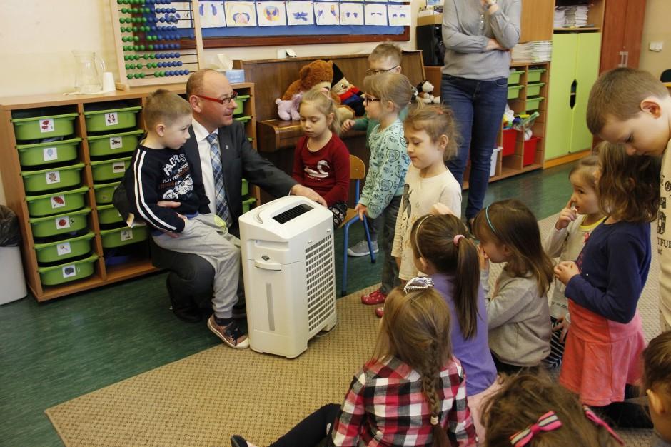 Oczyszczacze powietrza w przedszkolach w Pszczynie