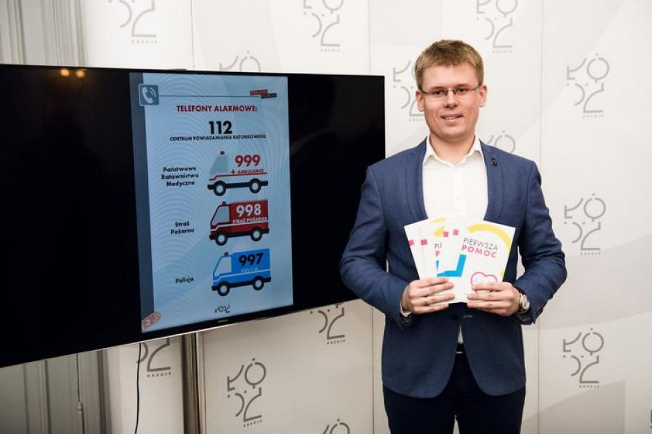 Łódź: magistrat będzie rozdawać poradniki pierwszej pomocy