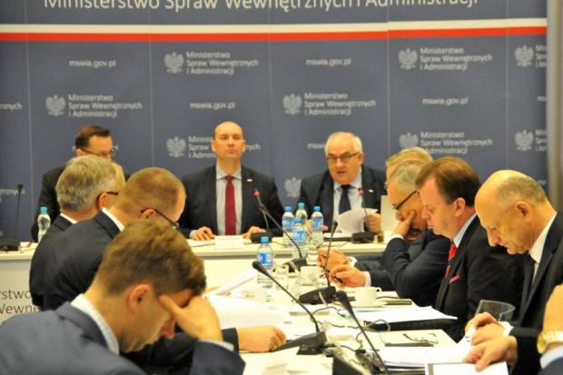 Członkowie ZMP brali udział w posiedzeniach Komisji Wspólnej Rządu i Samorządu Terytorialnego. (fot.Facebook/ZMP)