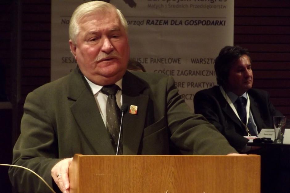 Lech Wałęsa do Pawła Adamowicza: Nie startuj w wyborach na prezydenta Gdańska