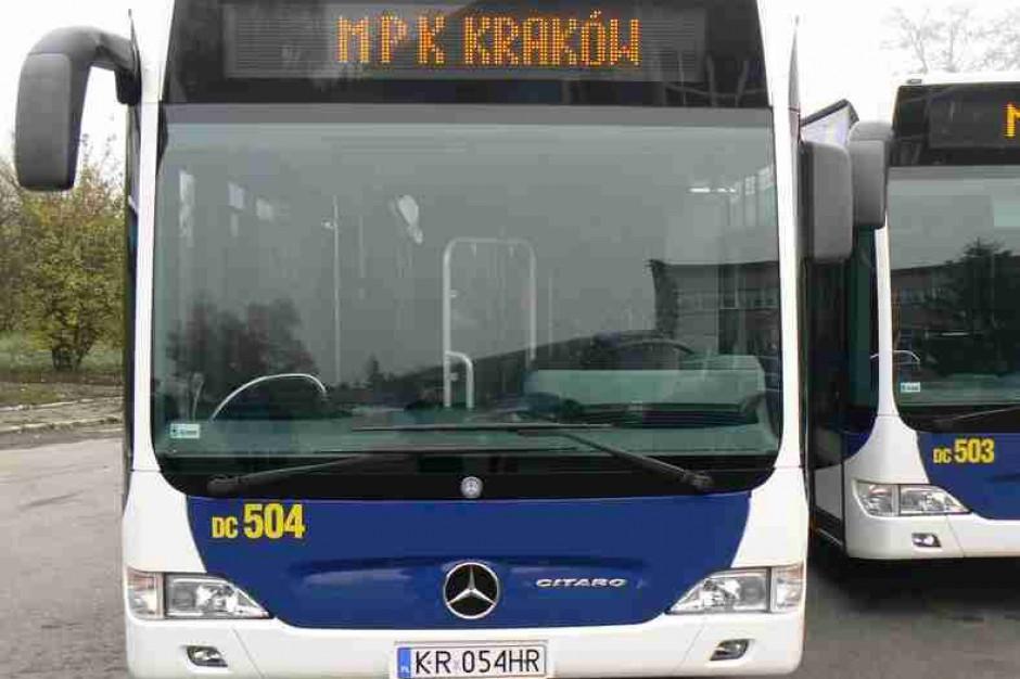 Ekologiczne mercedesy będą woziły pasażerów Krakowa