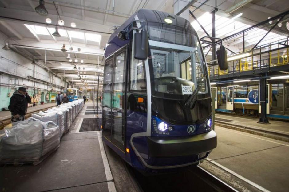 Nowe tramwaje Moderus Beta już są we Wrocławiu