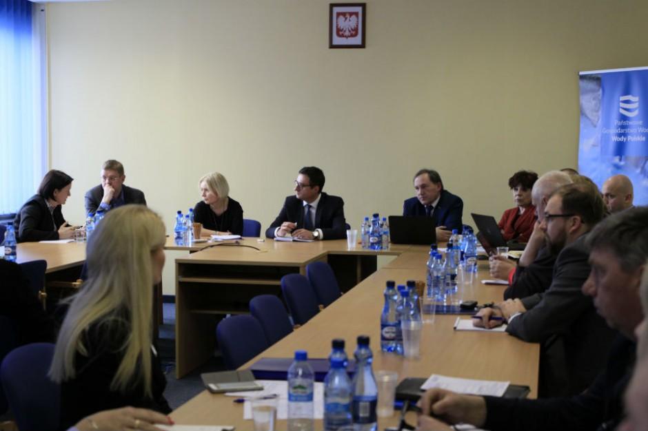 Wody Polskie: Negocjacje regulaminów i ustalenia zespołu do spraw dialogu
