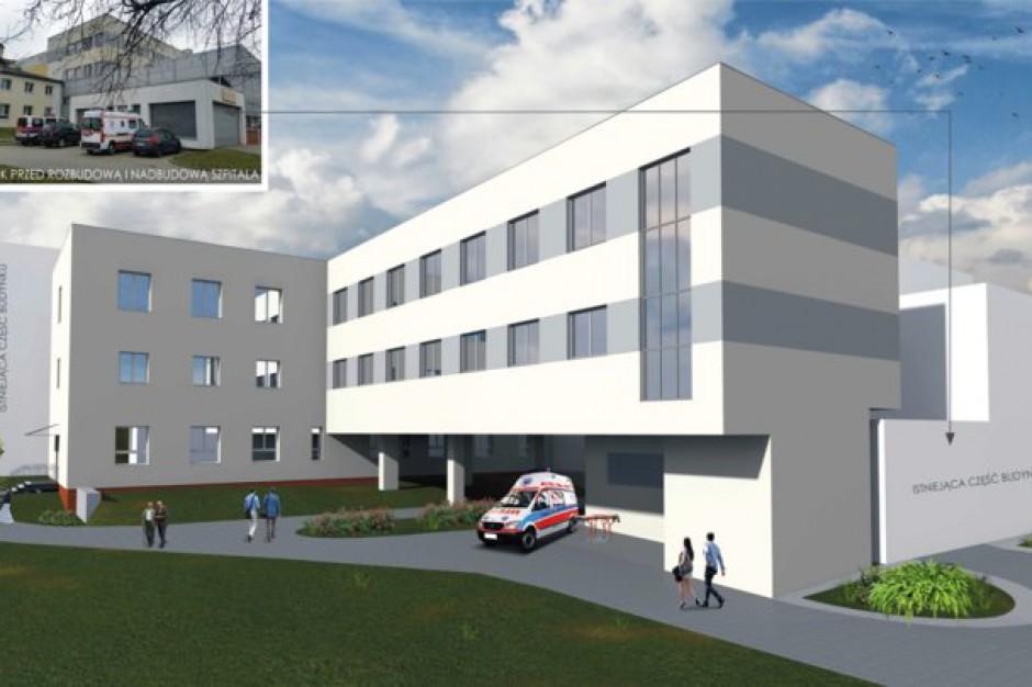 Wizualizacja szpitala po rozbudowie (fot.:powiat-jarocinski.pl)