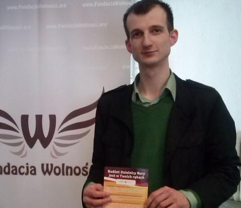 Krzysztof Jakubowski, prezes Fundacji Wolności w Lublinie (fot.mat.pras.)