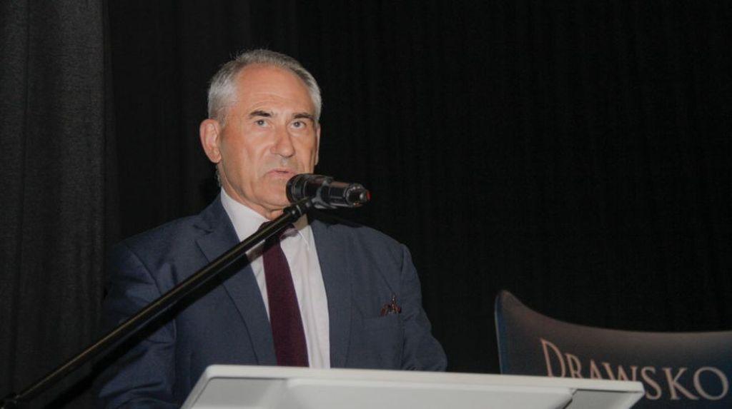 Marek Tobiszewski, zastępca burmistrza Drawska Pomorskiego.Fot. A. Cygan / www.drawsko.pl