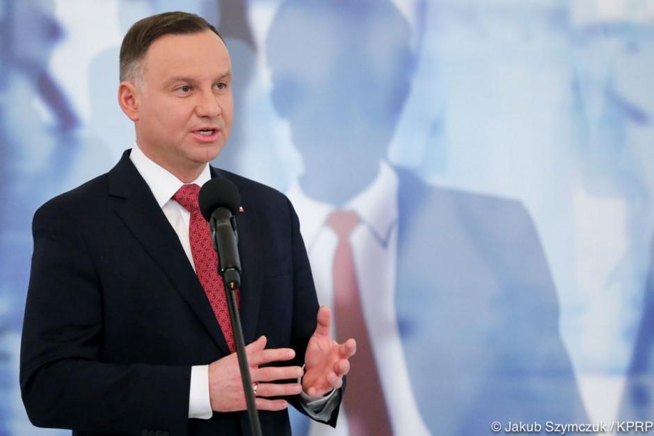 Prezydent Duda otrzymał honorowe obywatelstwo Bochni