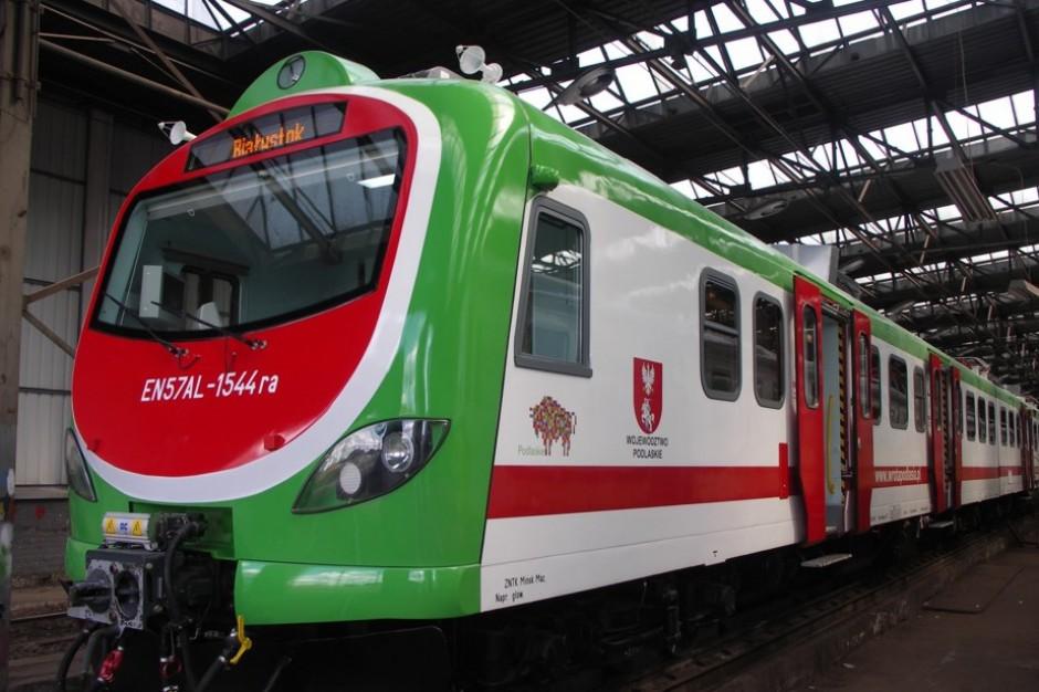 Warmińsko-mazurski samorząd zamówił zmodernizowany pociąg EN57