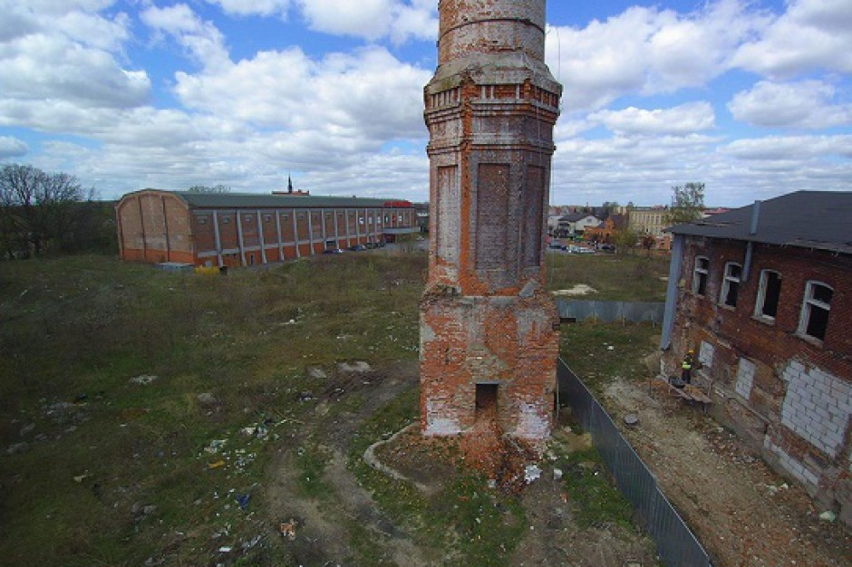 Pelplin: Za 11 mln zł zniszczona cukrownia stanie się miejscem rekreacji