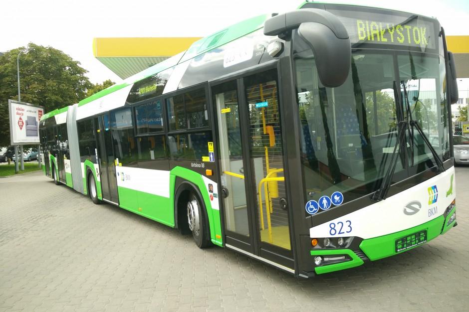 Białystok wprowadza bilety minutowe i grupowe w autobusach