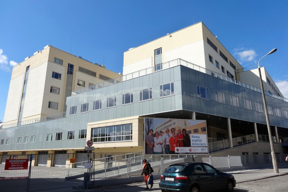 Zmodernizowano szpital dziecięcy w Bydgoszczy