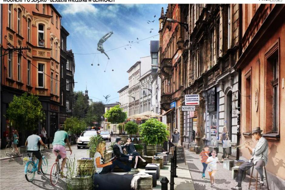 Gliwice: zdekomunizowana ulica w centrum będzie pierwszym woonerfem