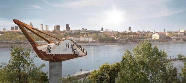 Wizualizacja mostu (fot.mat.prasowe)