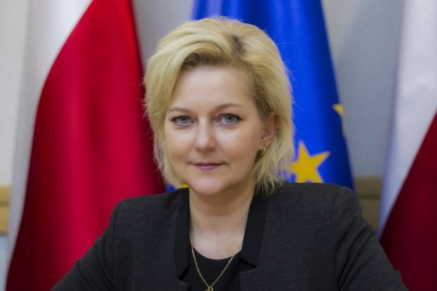 Szefowa Krajowego Biura Wyborczego Beata Tokaj. (fot. PKW)