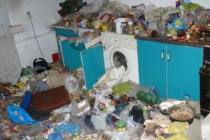 Sterty śmieci, grzyb, pleśń. Tak wyglądają odzyskane mieszkania
