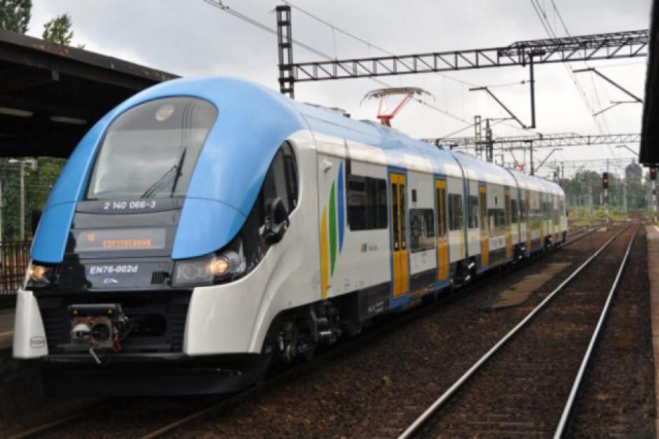 Od 10 czerwca dodatkowe kursy pociągów i dalsze remonty torów na Śląsku