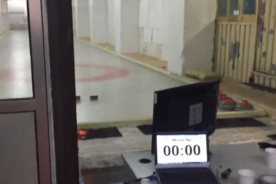 Mistrzostwa Polski w curlingu w ruderze. Zobacz film