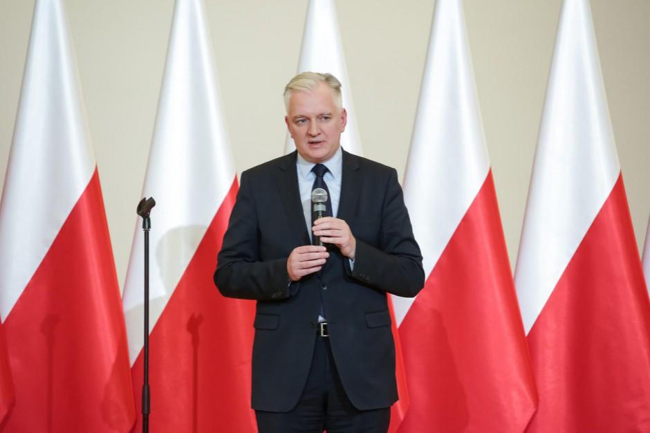 Jarosław Gowin: Najmocniej w Zjednoczonej Prawicy stawiamy na samorządność