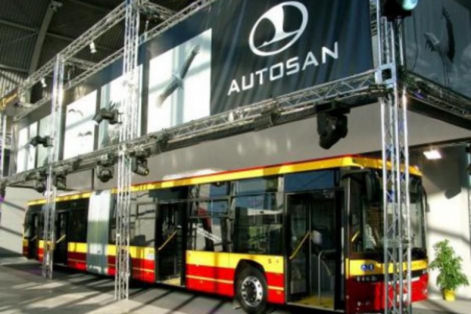 Do Rzeszowa przyjechał pierwszy z 10 autobusów Autosanu
