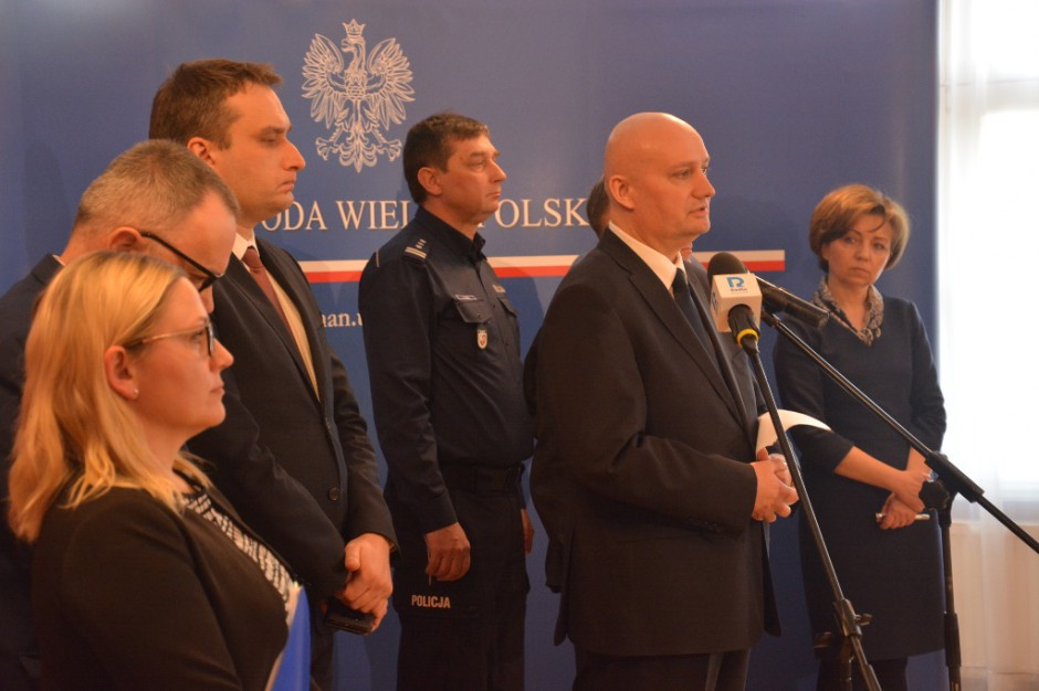 Wojewoda: Rząd gotowy do pomocy poszkodowanym z Poznania