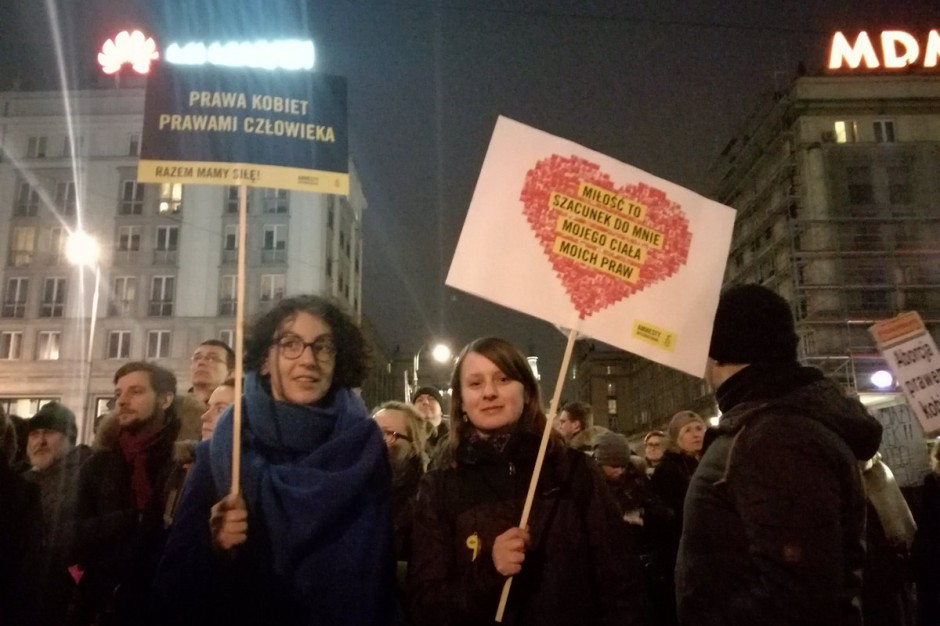 W całym kraju demonstracje w obronie praw kobiet