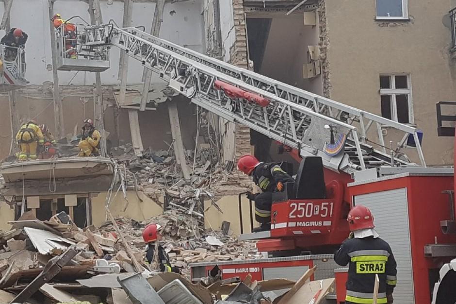 Wybuch kamienicy w Poznaniu. Miasto przydzieliło pierwszy lokal zastępczy