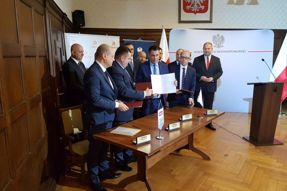 Obwodnica Przecławia i Warzymic: Jest umowa na nowy odcinek drogi numer 13