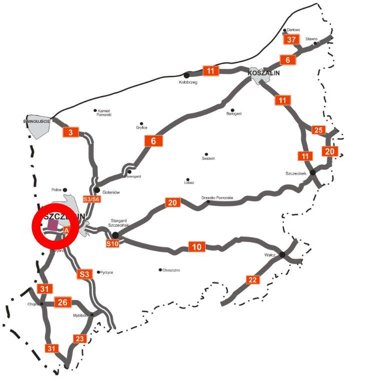 Przebieg trasy (fot.twitter.com/MI_GOV_PL)