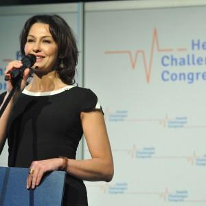 Uroczystą Galę konkursu Zdrowy samorząd prowadziła Anna Popek (fot.PTWP)